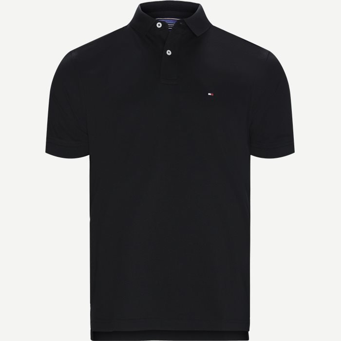 Core Tommy Regular Polo - T-shirts - Regular - Sort