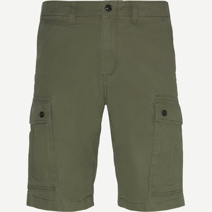 John Cargo Light Twill Shorts - Shorts - Regular - Army