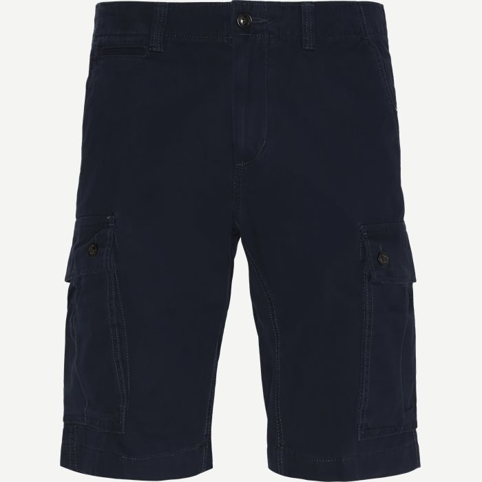 John Cargo Light Twill Shorts - Shorts - Regular - Blå