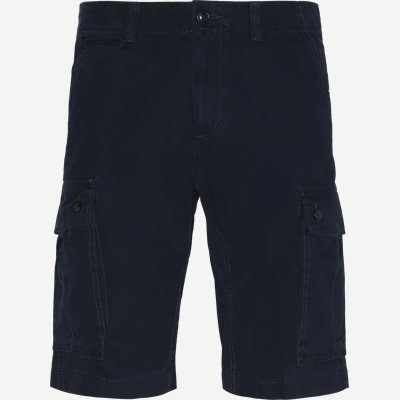 John Cargo Light Twill Shorts Regular | John Cargo Light Twill Shorts | Blå