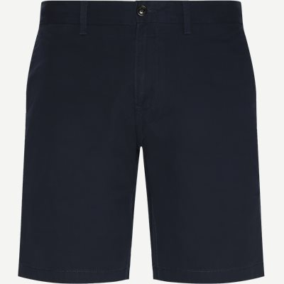 Brooklyn Short Light Twill Shorts Regular | Brooklyn Short Light Twill Shorts | Blå