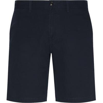 Brooklyn Short Light Twill Shorts Regular | Brooklyn Short Light Twill Shorts | Blå