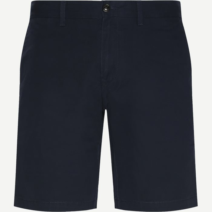 Brooklyn Short Light Twill Shorts - Shorts - Regular - Blå