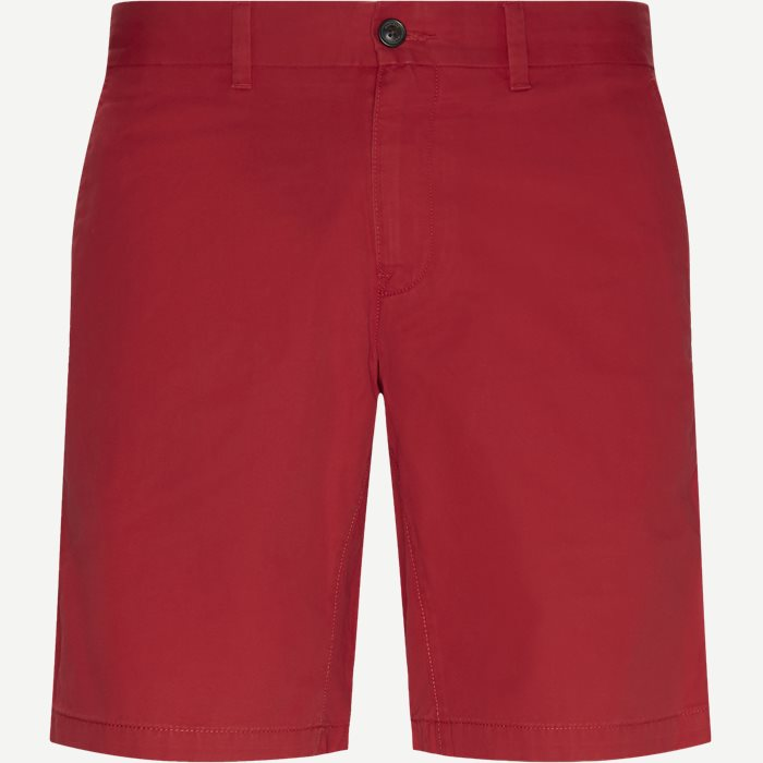 Brooklyn Short Light Twill Shorts - Shorts - Regular - Rød