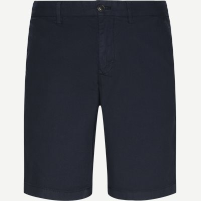 Brooklyn Structure Short Flex Shorts Regular | Brooklyn Structure Short Flex Shorts | Blå