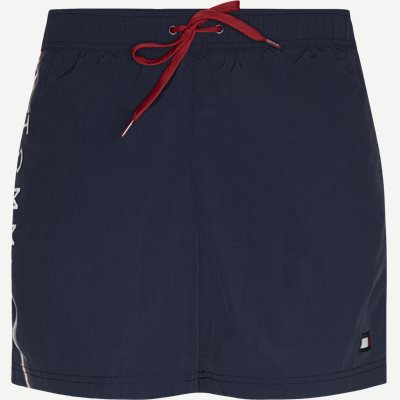 SF Medium Drawstring Badeshorts Slim | SF Medium Drawstring Badeshorts | Blå