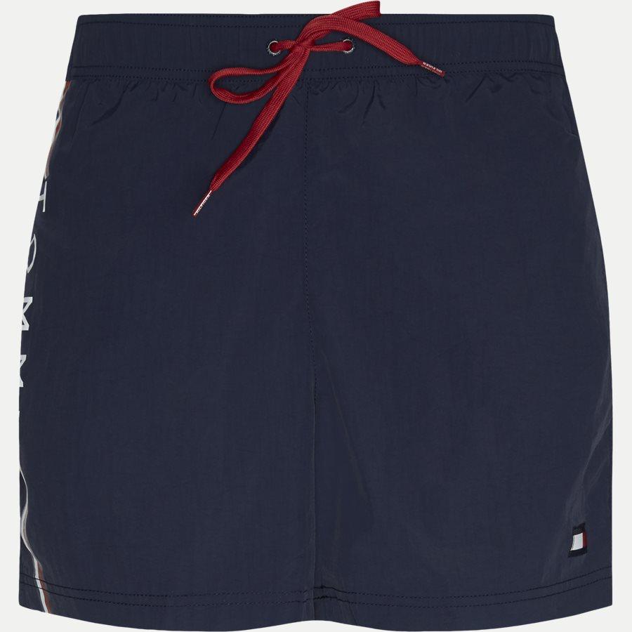 1416 SF MEDIUM DRAWSTRING - SF Medium Drawstring Badeshorts - Shorts - Slim - NAVY - 1