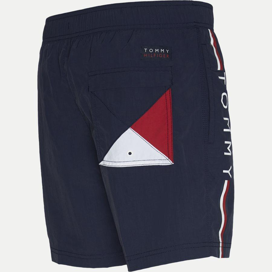 1416 SF MEDIUM DRAWSTRING - SF Medium Drawstring Badeshorts - Shorts - Slim - NAVY - 4