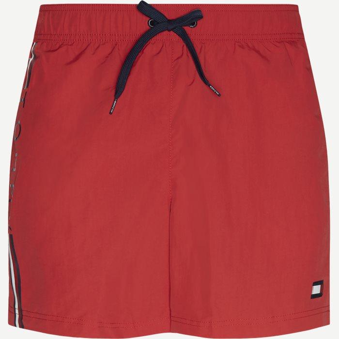 Shorts - Slim - Red