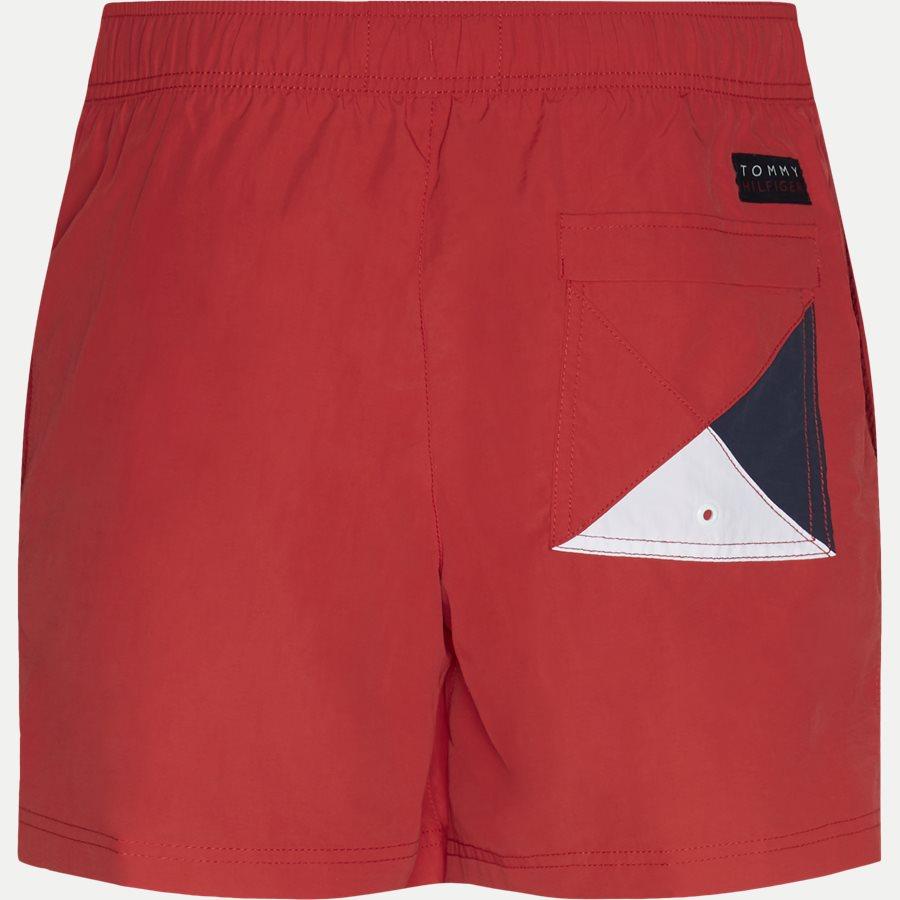 1416 SF MEDIUM DRAWSTRING - SF Medium Drawstring Badeshorts - Shorts - Slim - RØD - 2