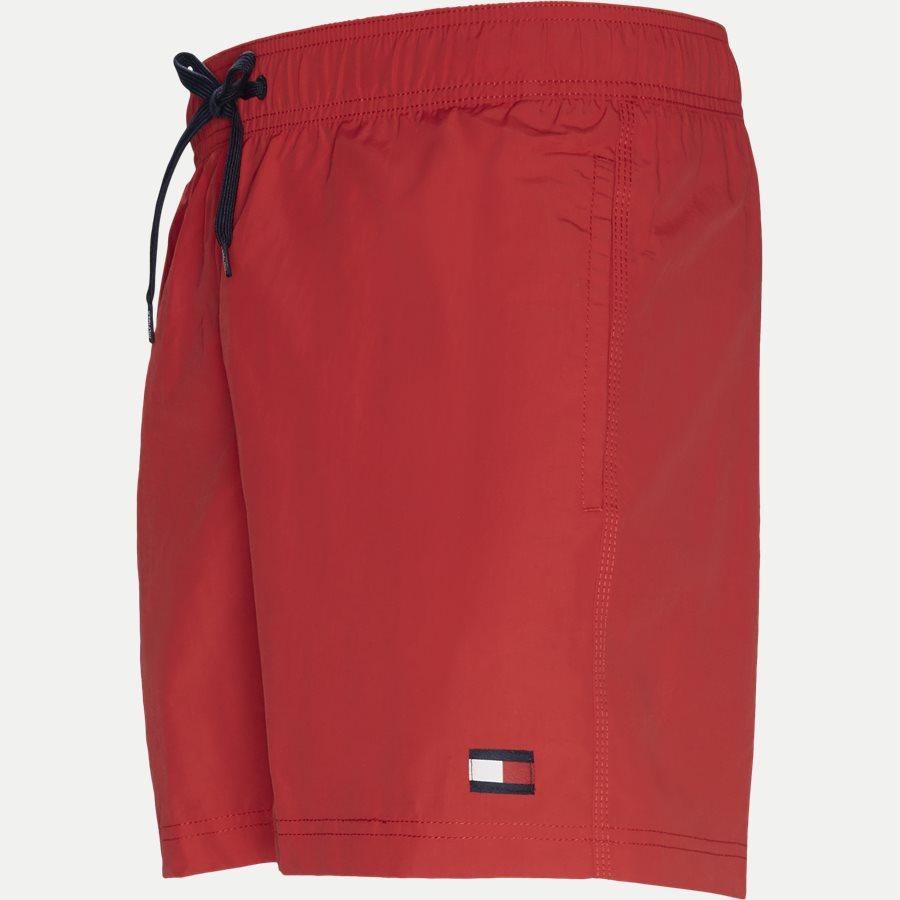 1416 SF MEDIUM DRAWSTRING - SF Medium Drawstring Badeshorts - Shorts - Slim - RØD - 3
