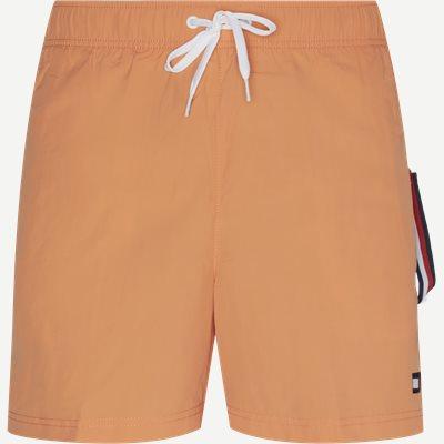 SF Medium Drawstring Badeshorts Slim | SF Medium Drawstring Badeshorts | Orange