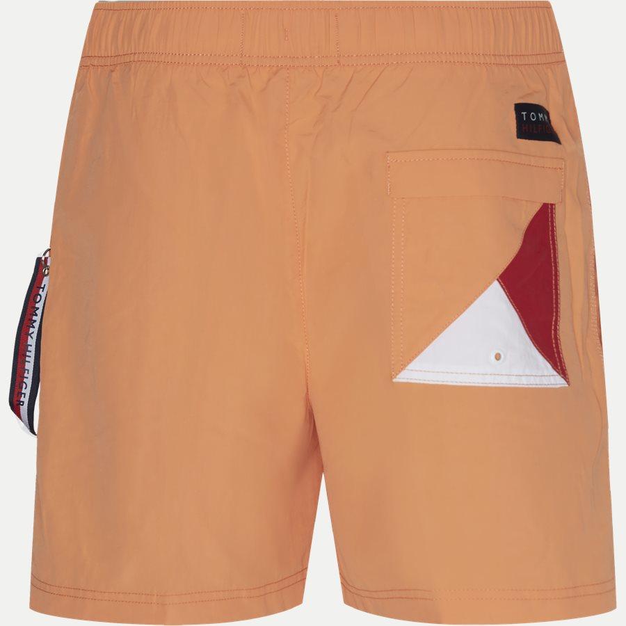 1080 SF MEDIUM DRAWSTRING - SF Medium Drawstring Badeshorts - Shorts - Slim - ORANGE - 2