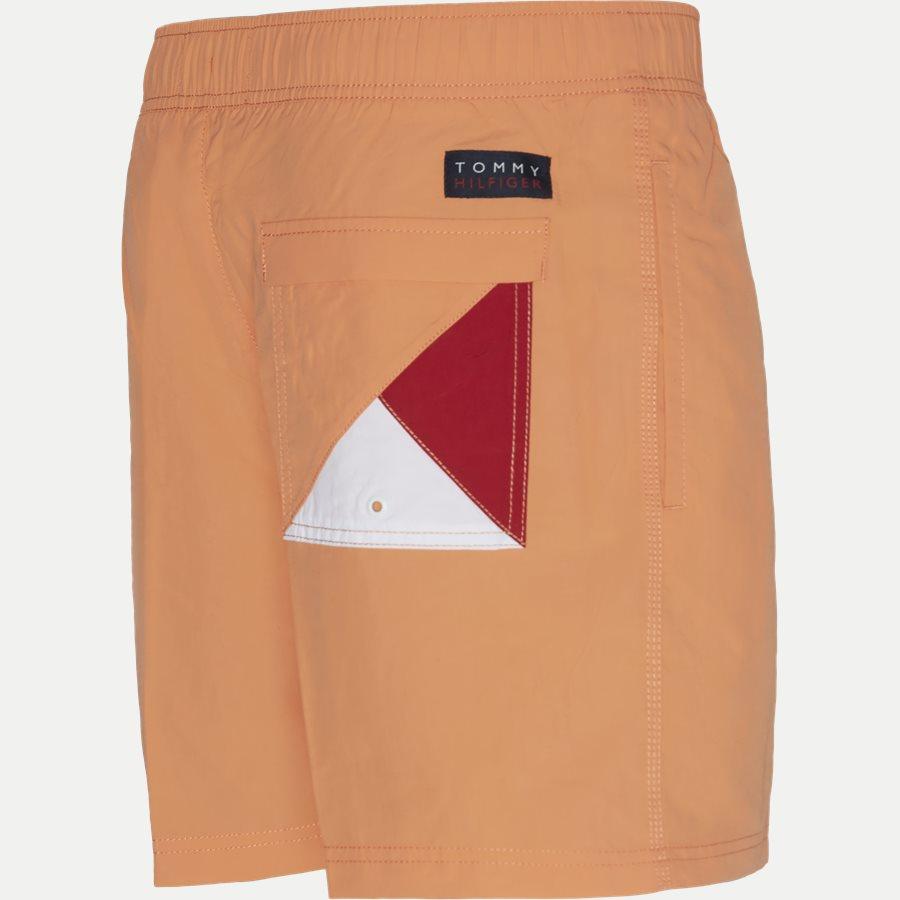 1080 SF MEDIUM DRAWSTRING - SF Medium Drawstring Badeshorts - Shorts - Slim - ORANGE - 3