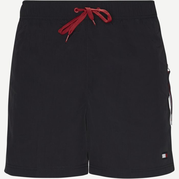 SF Medium Drawstring Badeshorts - Shorts - Slim - Sort
