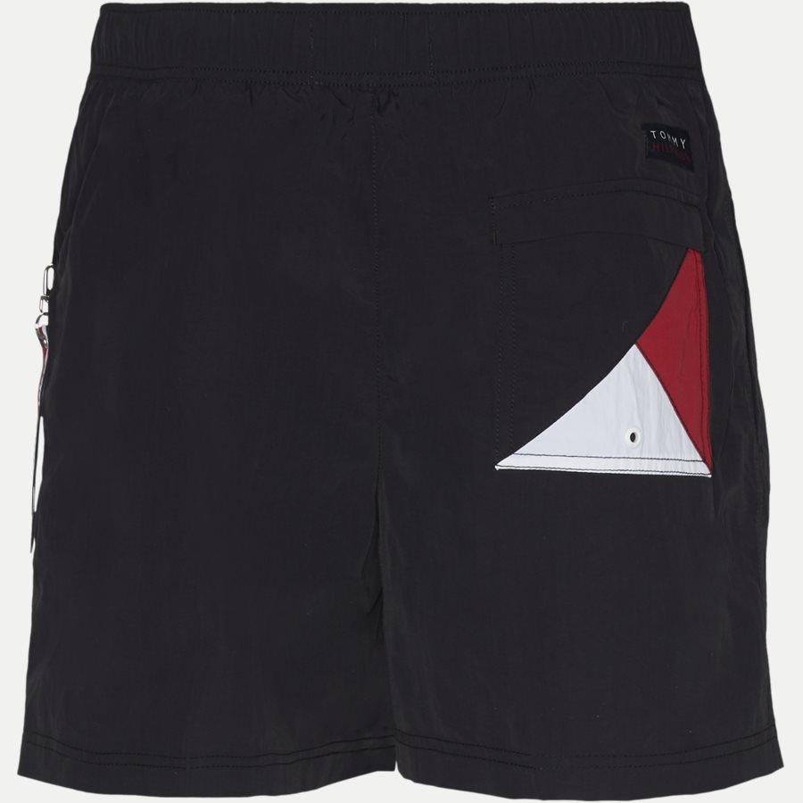 1080 SF MEDIUM DRAWSTRING - SF Medium Drawstring Badeshorts - Shorts - Slim - SORT - 2