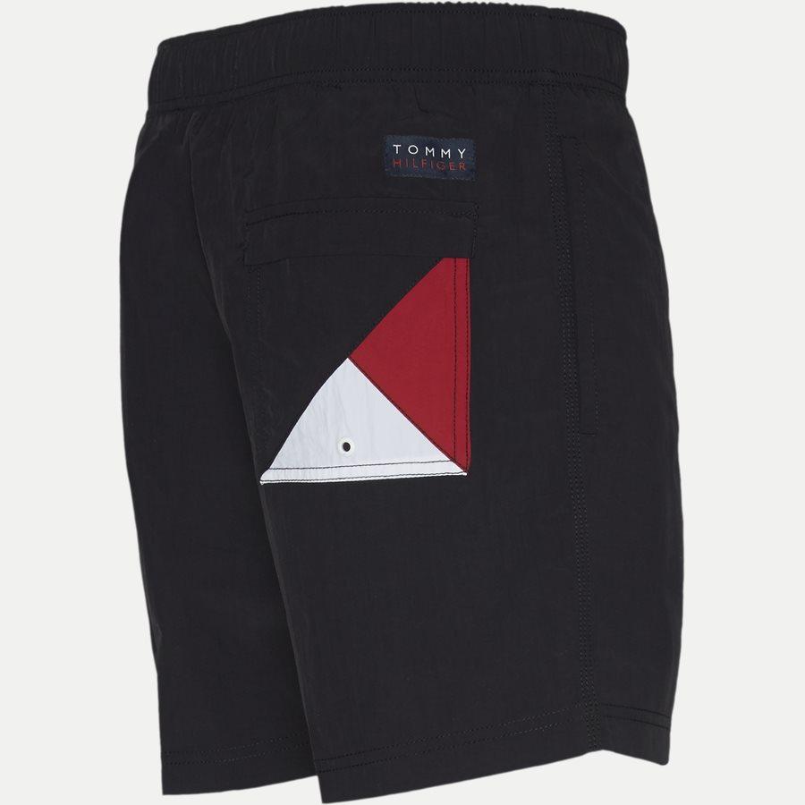 1080 SF MEDIUM DRAWSTRING - SF Medium Drawstring Badeshorts - Shorts - Slim - SORT - 3