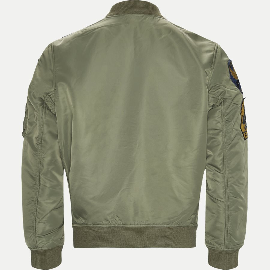 710716250 - Reversible Military-Inspiret Bomber Jacket - Jakker - Regular - ARMY - 2