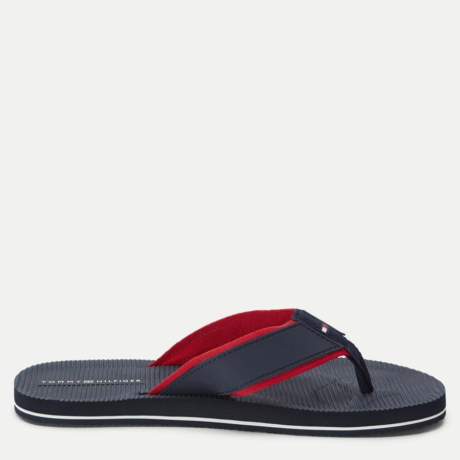 2086 FM0FM0 - Moulded Footbed Beach Sandal - Sko - NAVY - 2