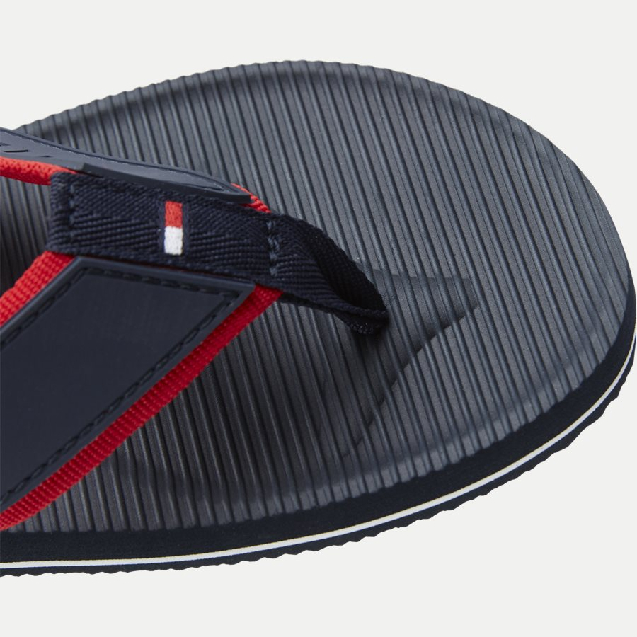2086 FM0FM0 - Moulded Footbed Beach Sandal - Sko - NAVY - 4