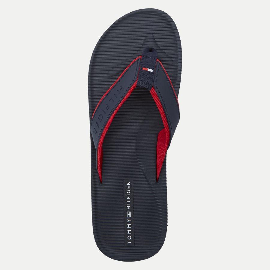 2086 FM0FM0 - Moulded Footbed Beach Sandal - Sko - NAVY - 8