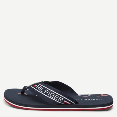 Seasonal  Stripe Beach Sandal Seasonal  Stripe Beach Sandal | Blå