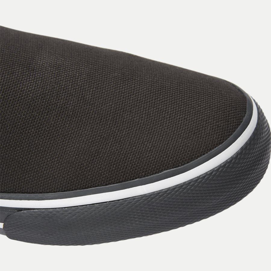 0002 EM0EM0 - Textile Slip On Sneaker - Sko - SORT - 4