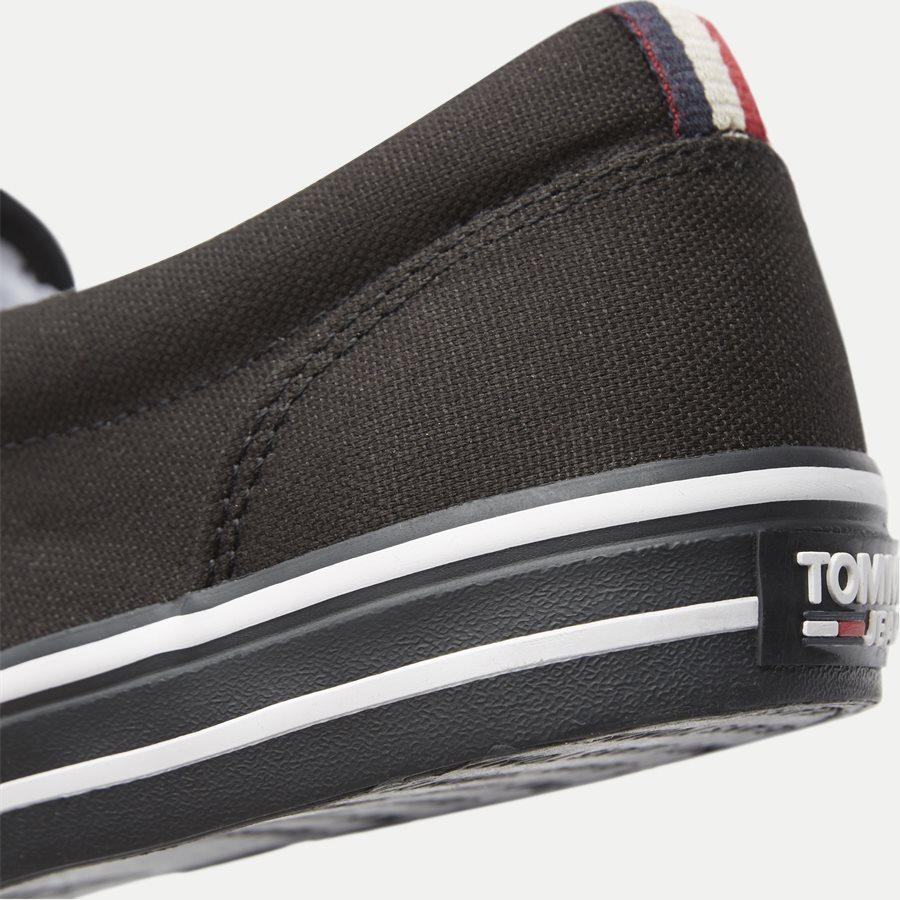 0002 EM0EM0 - Textile Slip On Sneaker - Sko - SORT - 5