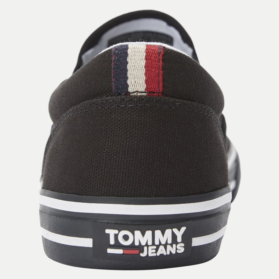 0002 EM0EM0 - Textile Slip On Sneaker - Sko - SORT - 7