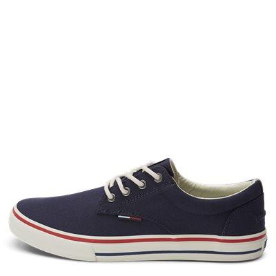 Tommy Jeans Textile Sneaker Tommy Jeans Textile Sneaker | Blå
