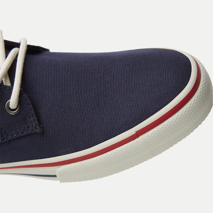 0001 EM0EM0 - Tommy Jeans Textile Sneaker - Sko - NAVY - 4