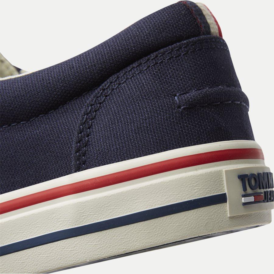 0001 EM0EM0 - Tommy Jeans Textile Sneaker - Sko - NAVY - 5