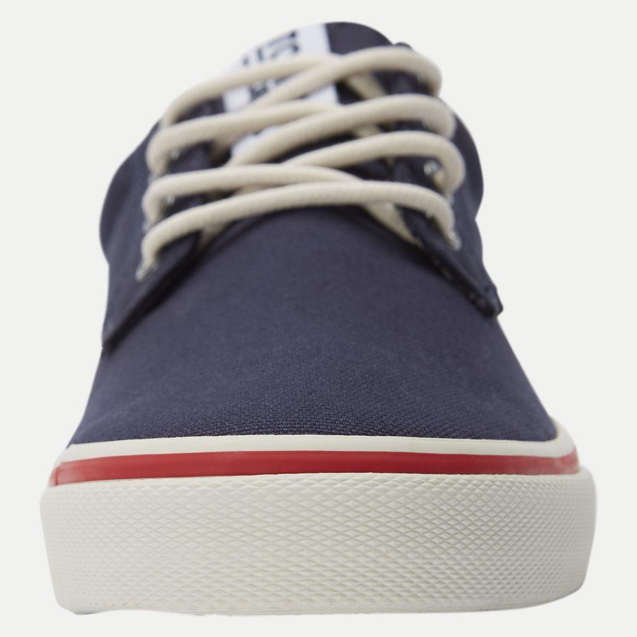 0001 EM0EM0 - Tommy Jeans Textile Sneaker - Sko - NAVY - 6