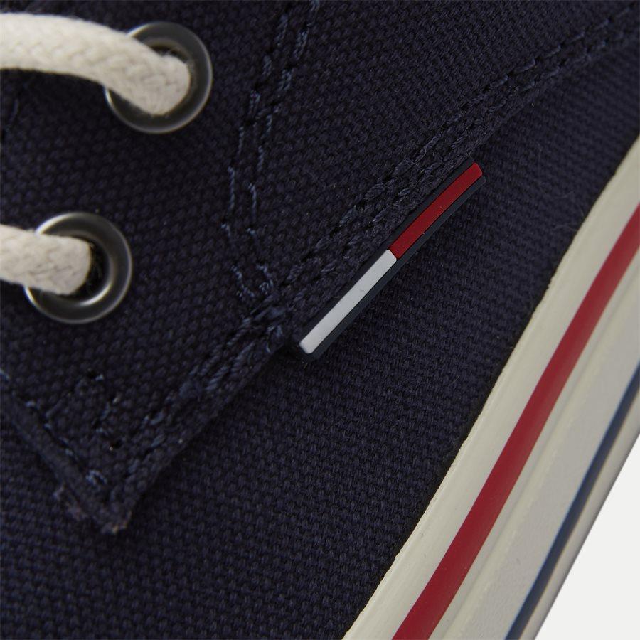 0001 EM0EM0 - Tommy Jeans Textile Sneaker - Sko - NAVY - 11