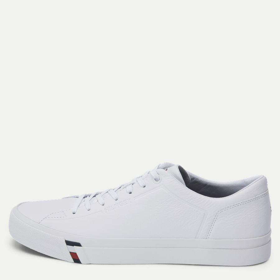 2089 FM0FM0 - Corporate Leather Sneaker - Sko - HVID - 1