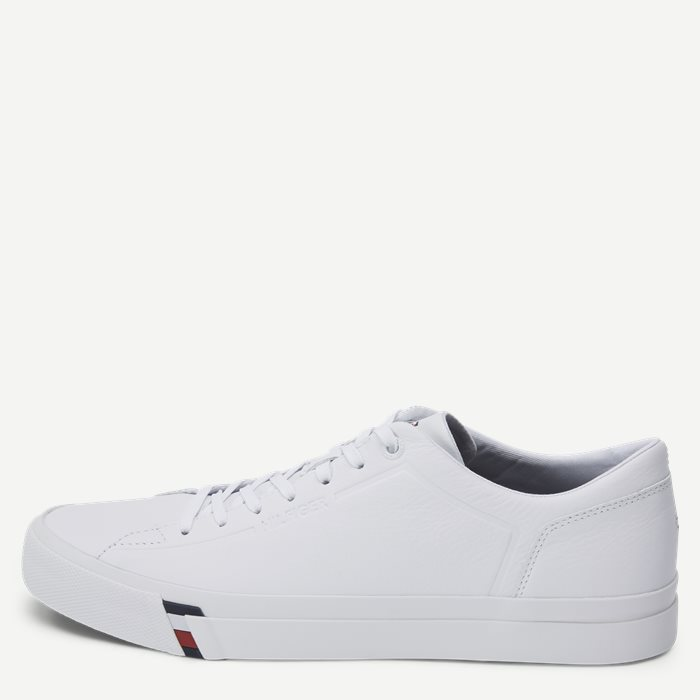 Corporate Leather Sneaker - Sko - Hvid