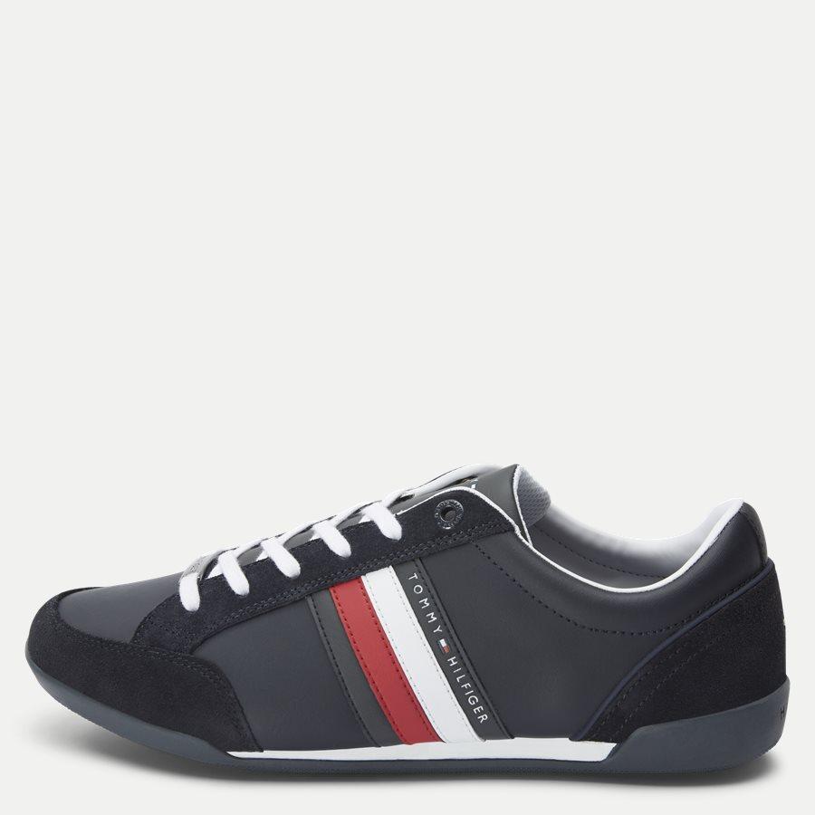 2046 FM0FM0 - Corporate Cupsole Sneaker - Sko - NAVY - 1