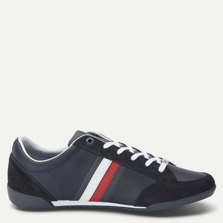 2046 FM0FM0 - Corporate Cupsole Sneaker - Sko - NAVY - 2