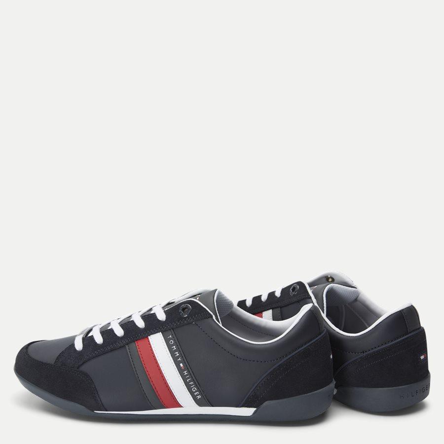 2046 FM0FM0 - Corporate Cupsole Sneaker - Sko - NAVY - 3