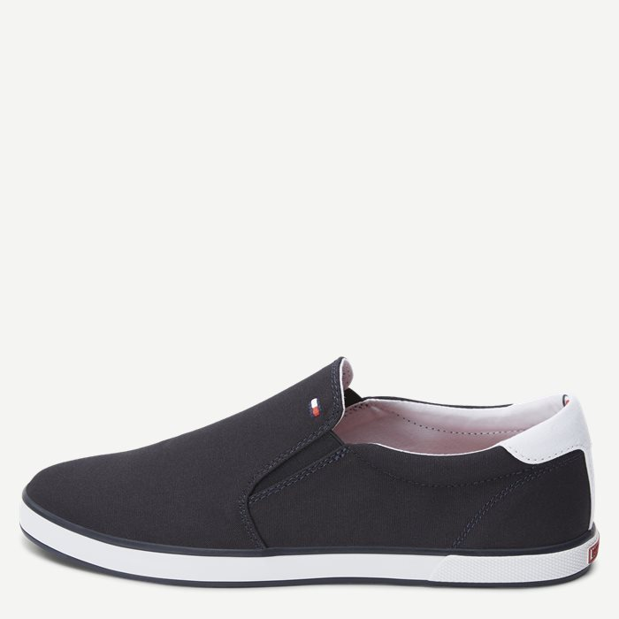 Iconic Canvas Slip On Sneaker - Sko - Blå