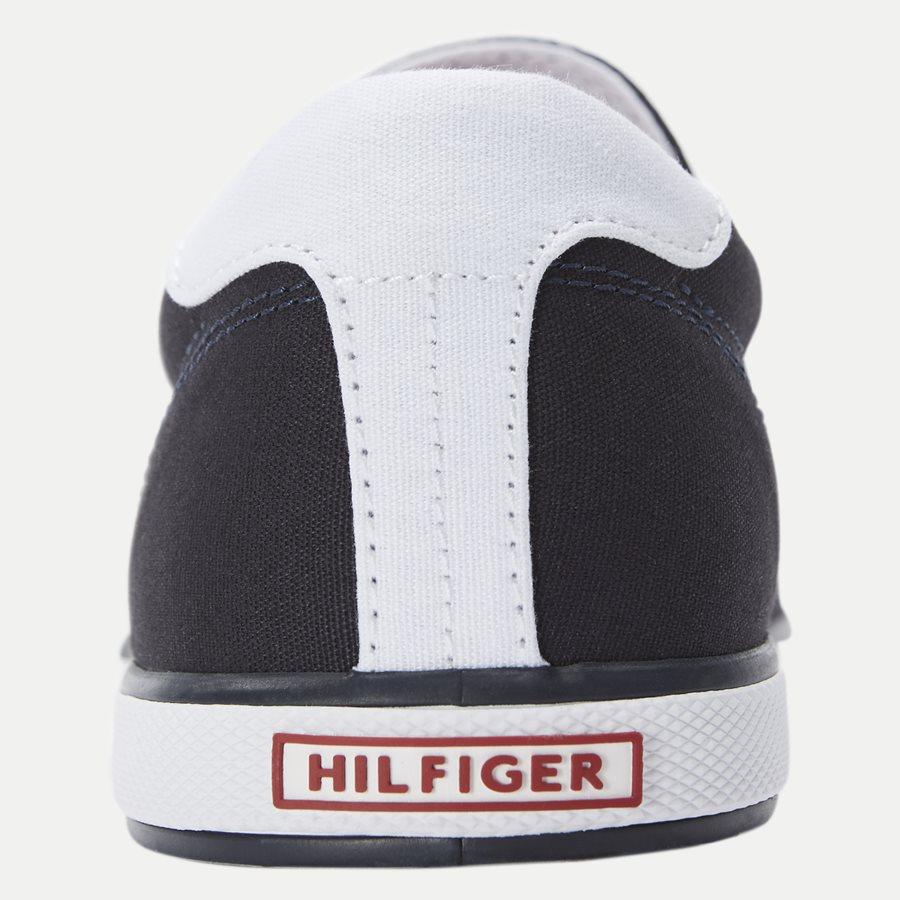 0597 FM0FM0 - Iconic Canvas Slip On Sneaker - Sko - NAVY - 7