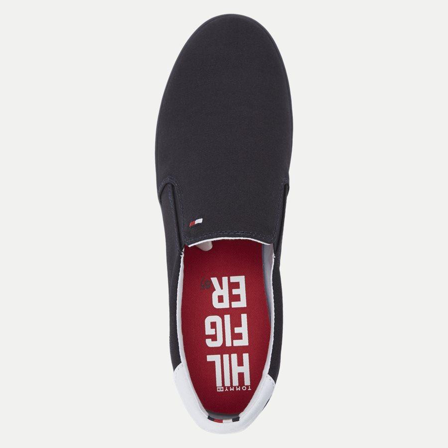 0597 FM0FM0 - Iconic Canvas Slip On Sneaker - Sko - NAVY - 8