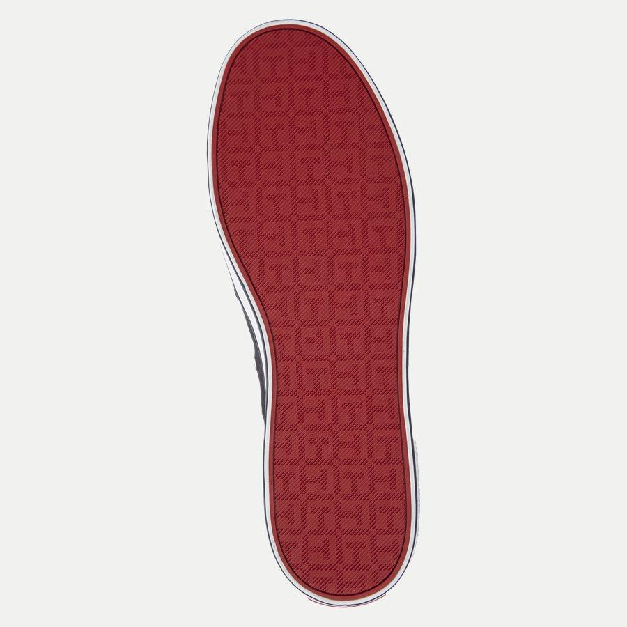 0597 FM0FM0 - Iconic Canvas Slip On Sneaker - Sko - NAVY - 9