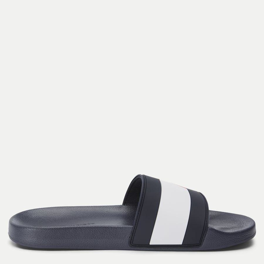 2327 FM0FM0 - Essential Flag Pool Slide Sandal - Sko - NAVY - 2