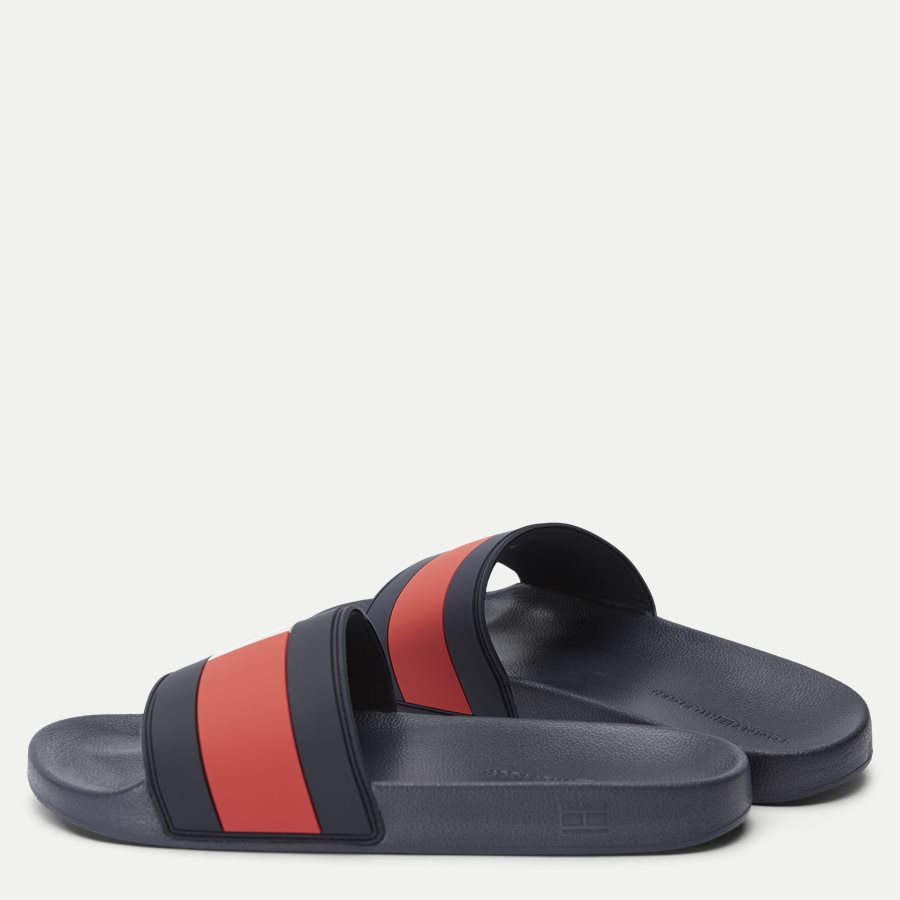 2327 FM0FM0 - Essential Flag Pool Slide Sandal - Sko - NAVY - 3
