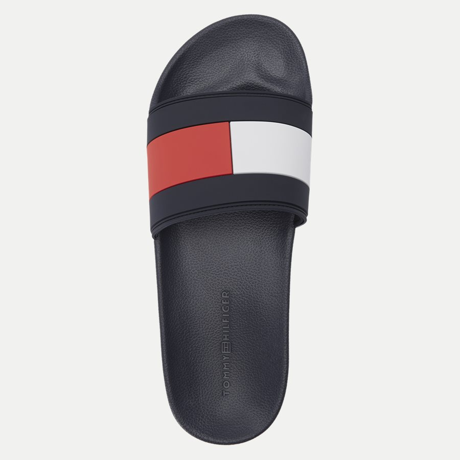 2327 FM0FM0 - Essential Flag Pool Slide Sandal - Sko - NAVY - 8