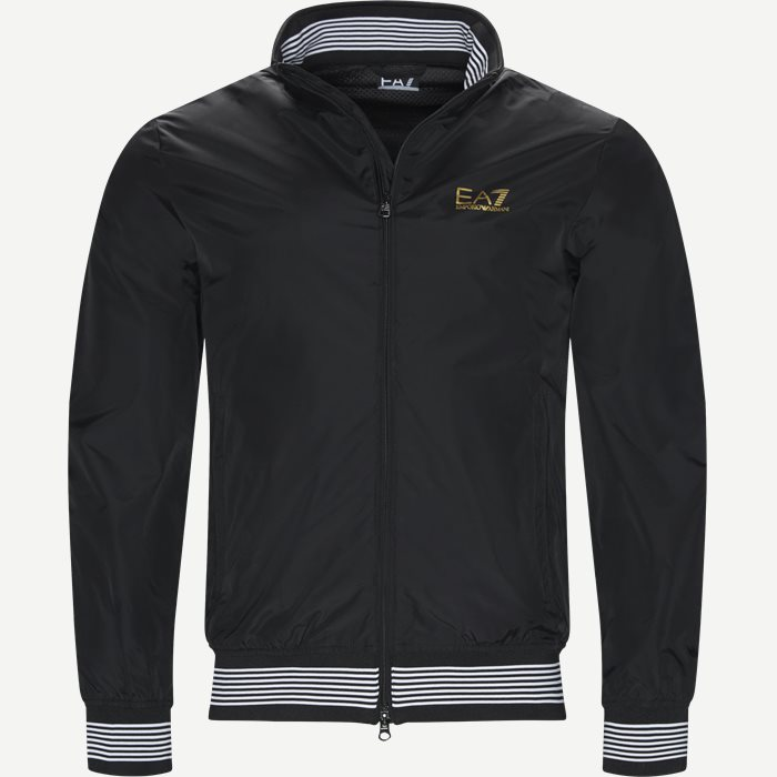 Bomber Jacket - Jakker - Regular - Sort