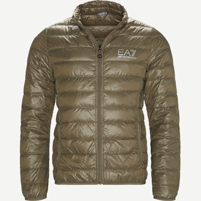 Down Jacket - Jakker - Regular - Sand