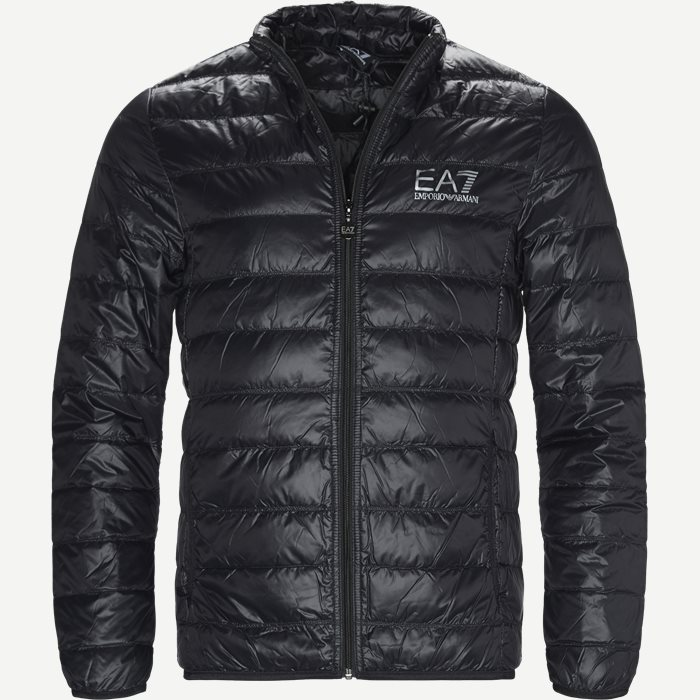 Down Jacket - Jakker - Regular - Sort