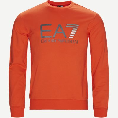Crew Neck Sweatshirt Regular | Crew Neck Sweatshirt | Orange